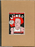 "Modern Age (1980-Present):Alternative/Underground, Jimbo #1 (RAW, 1982) Condition: NM-. This is probably the toughestof the ""RAW"" one-shots. With only 1000 copies printed, a ..."