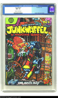 Modern Age (1980-Present):Alternative/Underground, Junkwaffel #1 (Print Mint, 1971) CGC NM+ 9.6 Off-white to whitepages. From the mind of Vaughn Bode comes this comic abo...
