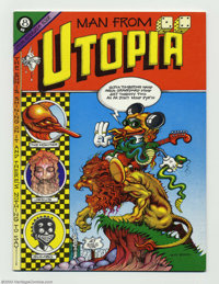 Man From Utopia #1 (San Francisco Comic Book Company, 1972) Condition: NM. One of the few Undergrounds that is 100% Rick...