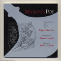 Books:Miscellaneous, Maxon's Poe - Softcover Group Of 50 (Word Play, 1997) Condition: Average NM. This lot consists of 50 copies of this handsome... (Total: 50 items Item)