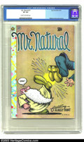 Bronze Age (1970-1979):Alternative/Underground, Mr. Natural #1 - First Printing (Apex Novelties, 1970) CGC VF 8.0 Cream to off-white pages. Robert Crumb gives his profane p...