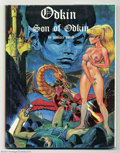 Books:Graphic Novel, Odkin Son of Odkin - Limited Edition (Wallace Wood, 1981)Condition: VF/NM. In this, the sequel to The Wizard King, Wood...