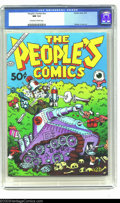 Modern Age (1980-Present):Alternative/Underground, The People's Comics #nn (Golden Gate, 1972) CGC NM 9.4 Off-white to white pages. A great Robert Crumb cover wraps around the...