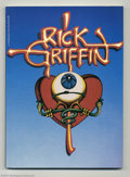 Modern Age (1980-Present):Alternative/Underground, Rick Griffin Softcover - First Printing (G. P. Putnam's Sons,1980). Long out of print until just recently, copies of this s...