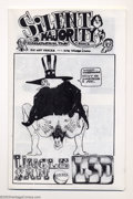 """Bronze Age (1970-1979):Alternative/Underground, Silent Majority Comix #2 (Rip Off Press, 1970) Condition: NM. This is the giveaway version of the larger comic """"Uncle Sam ta..."""