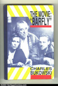 Books:Hardcover, The Movie: Barfly - First Edition - Autographed Hardcover (BlackSparrow Press, 1987) Condition: VF/NM. This volume, by inte...