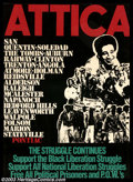 Silver Age (1956-1969):Alternative/Underground, Attica - Memorabilia Poster (1971). This limited edition silkscreenposter was done for the purpose of raising money for the...