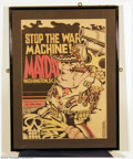 "Silver Age (1956-1969):Alternative/Underground, Skip Williamson - Memorabilia Poster, ""Mayday!"" (1968). Here is avintage Viet Nam era anti-war poster by Underground great ..."