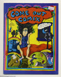Bronze Age (1970-1979):Alternative/Underground, Mary Wings - Underground Comix Group (Various, 1970s). Before Howard Cruse and Gay Comix, before Larry Fuller and Gay ... (Total: 2 Comic Books Item)