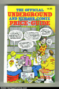 Books:Reference, Underground Comix Price Guide #1, Hardcover Edition (Boatner Norton Press, 1982) Condition: VF/NM. Since the beginning of th...