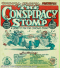 Silver Age (1956-1969):Alternative/Underground, The Conspiracy Stomp Poster by Robert Crumb (Wavy Gravy, 1969).Here is a classic poster drawn by Underground Comix legend R...