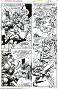 Original Comic Art:Panel Pages, Ross Andru and Tony DeZuniga - Original Art for The AmazingSpider-Man #176, page 27 (Marvel, 1978). In the 1970s, Harry Osb...