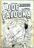 Original Comic Art:Covers, Al Avison - Original Cover Art for Joe Palooka #47 (Harvey, 1951).Joe to the rescue, as always. As a treasure-hunting diver...