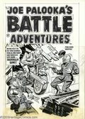 Original Comic Art:Covers, Al Avison - Original Cover Art for Joe Palooka's Battle Adventures#73 (Harvey, 1957). We had held the red horde in Korea! N...