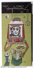 Original Comic Art:Sketches, Dave Berg - Original Illustration (1974). This large, campy painting was created as one in a series of four that Dave Berg, ...