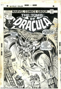 Original Comic Art:Covers, Frank Brunner and Tom Palmer - Original Cover Art for The Tomb ofDracula #12 (Marvel, 1973). Dracula kidnaps Quincy Harker'...