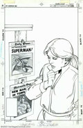 "Original Comic Art:Covers, John Byrne and Alfredo Alcala - Original Cover Art for Smallville:The Comic #4 (DC, 2002). Based on the popular TV show, ""S..."