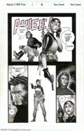 Original Comic Art:Panel Pages, Travis Charest - Original Art for WildC.A.T.S/X-Men #1, page 26(Image, 1997). A legend in his own time, Travis Charest is r...