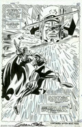 Original Comic Art:Splash Pages, Gene Colan - Original Splash Page Art for Daredevil #37, page 16(Marvel, 1967). From the scintillating Silver Age comes thi...