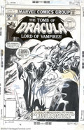 Original Comic Art:Covers, Gene Colan and Tom Palmer - Original Cover Art for The Tomb ofDracula #61 (Marvel, 1977). The maternal instinct is strong, ...