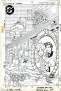 Original Comic Art:Covers, Paris Cullins and Romeo Tanghal - Original Cover Art for The NewTeen Titans #12 (DC, 1985). Starfire and Dick Grayson highl...