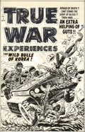 Original Comic Art:Covers, Lee Elias - Original Cover Art for True War Experiences #2 (Harvey,1952). While Lee Elias is most famous for his work on ...