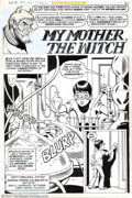 """Original Comic Art:Complete Story, Ramona Fradon and Bob Smith - Original Art for House of Mystery #273, Complete 5-page Story, """"My Mother the Witch"""" (DC, 1979)...."""