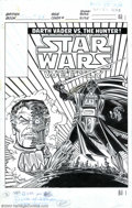 Original Comic Art:Covers, Carmine Infantino - Original Cover Art for Star Wars Weekly #68(Marvel, 1979). Marvel Comics' U.K. division published their...