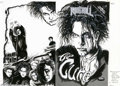 Original Comic Art:Covers, Scott Jackson - Original Cover Art for Rock 'n' Rock Comics #30(Revolutionary Comics, 1991). Robert Smith, the Cure's main ...