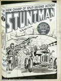Original Comic Art:Covers, Jack Kirby and Joe Simon - Original Cover Art for Stuntman #2(Harvey, 1946). The Team Supreme of Simon and Kirby do it agai...