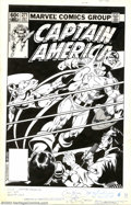 Original Comic Art:Covers, Alan Kupperberg and John Beatty - Original Cover for CaptainAmerica #271 (Marvel, 1982). Captain America takes it on the ch...