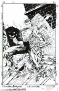 Original Comic Art:Covers, Ken Lashley and Tom Wegrzyn - Original Cover Art for Doc Samson #2(Marvel, 1996). Doc Samson, side by side with She-Hulk, f...