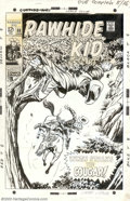 Original Comic Art:Covers, Larry Lieber - Original Cover Art for Rawhide Kid #68 (Marvel,1968). The evil Cougar is about to get the drop on our hero o...