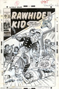 Original Comic Art:Covers, Larry Lieber - Original Cover Art for The Rawhide Kid #85 (Marvel,1970). Rawhide's gotten himself in a whole mess o' troubl...