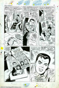 Original Comic Art:Panel Pages, Larry Lieber and Mickey Demeo - Original Art for Amazing Spider-ManAnnual #5, pages 9-13 (Marvel, 1968). A wonderful, five ...