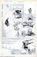"Original Comic Art:Complete Story, Larry Lieber - Original Art for ""The Manhattan Project"" Graphic Novel (Marvel, 1985). Offered here is a unique look into the..."