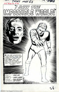 Original Comic Art:Panel Pages, Larry Lieber - Original Art for Strange Tales #112 Group of 3 pages(Marvel, 1963). Some of the funnest reading during the M...