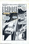 "Original Comic Art:Complete Story, Moe Marcus and Rocco Mastroserio - Original Art for Chamber of Chills #17, Complete 6-Page Story, ""Bridge"" (Harvey, 1953). A..."