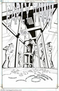 Original Comic Art:Splash Pages, Brad Rader and Terry Austin - Original Art for Batman: GothamAdventures #51, Group of 6 Pages (DC, 2002). This Bat-title ta...