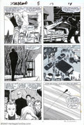 Original Comic Art:Panel Pages, John Romita Jr. and Al Williamson - Original Art for Star Brand #5, pages 3, 10 and 13 (Marvel, 1987). Pittsburgh mechanic, ...