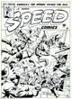 Alex Schomburg - Original Cover Art for Speed Comics #31 (Harvey, 1944)