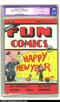 Golden Age (1938-1955):Humor, More Fun Comics #17 (DC, 1937) Apparent FN/VF 7.0 Moderate (P) Off-white pages. This historical title was, according to M. T...