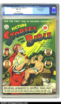 Golden Age (1938-1955):Religious, Picture Stories from the Bible #3 Old Testament - Gaines Filepedigree (DC, 1943) CGC NM+ 9.6 Off-white pages. Abraham, Isaa...
