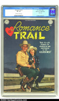 Golden Age (1938-1955):Western, Romance Trail #1 Mile High pedigree (DC, 1949) CGC VF- 7.5Off-white to white pages. Even apart from the fact that this isa...