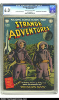 Golden Age (1938-1955):Science Fiction, Strange Adventures #1 (DC, 1950) CGC FN 6.0 Cream to off-whitepages. DC's first sci-fi title had a long and interesting run...