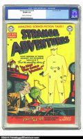 Golden Age (1938-1955):Horror, Strange Adventures #5 (DC, 1951) CGC VF/NM 9.0 Cream to off-whitepages. The first few covers of DC's first science-fiction ...