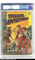 Golden Age (1938-1955):Science Fiction, Strange Adventures #19 (DC, 1952) CGC VF- 7.5 Off-white to whitepages. DC had some top-of-the-line artists in their stable ...