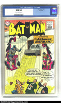 Silver Age (1956-1969):Superhero, Batman #120 Big Apple pedigree (DC, 1958) CGC VF/NM 9.0 Cream to off-white pages. Batman's flying chair, the Bat-Copter, mak...
