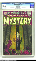 Silver Age (1956-1969):Horror, House of Mystery #174 (DC, 1968) CGC NM+ 9.6 Off-white pages. It isjust a matter of time before this book takes off. Prior ...