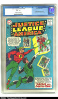Silver Age (1956-1969):Superhero, Justice League of America #22 (DC, 1963) CGC NM- 9.2 Off-white to white pages. The JSA and JLA continue the crossover storyl...